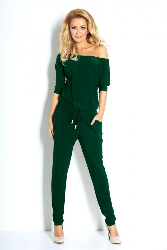 81-7 Overall Sporty - dark green